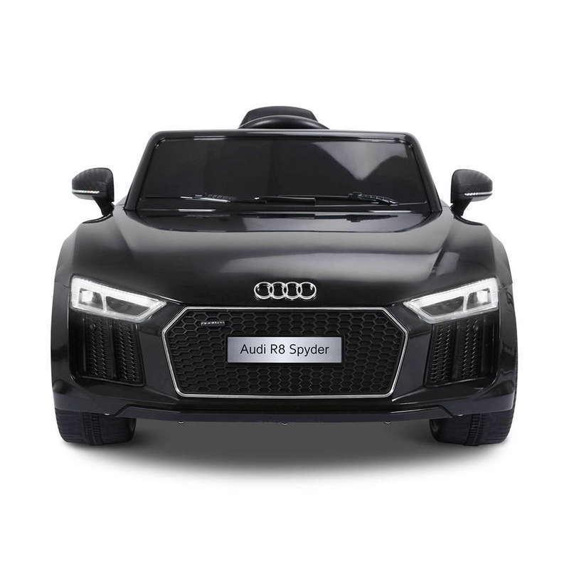 Masinuta electrica cu telecomanda Audi R8 Spyder Black - 2