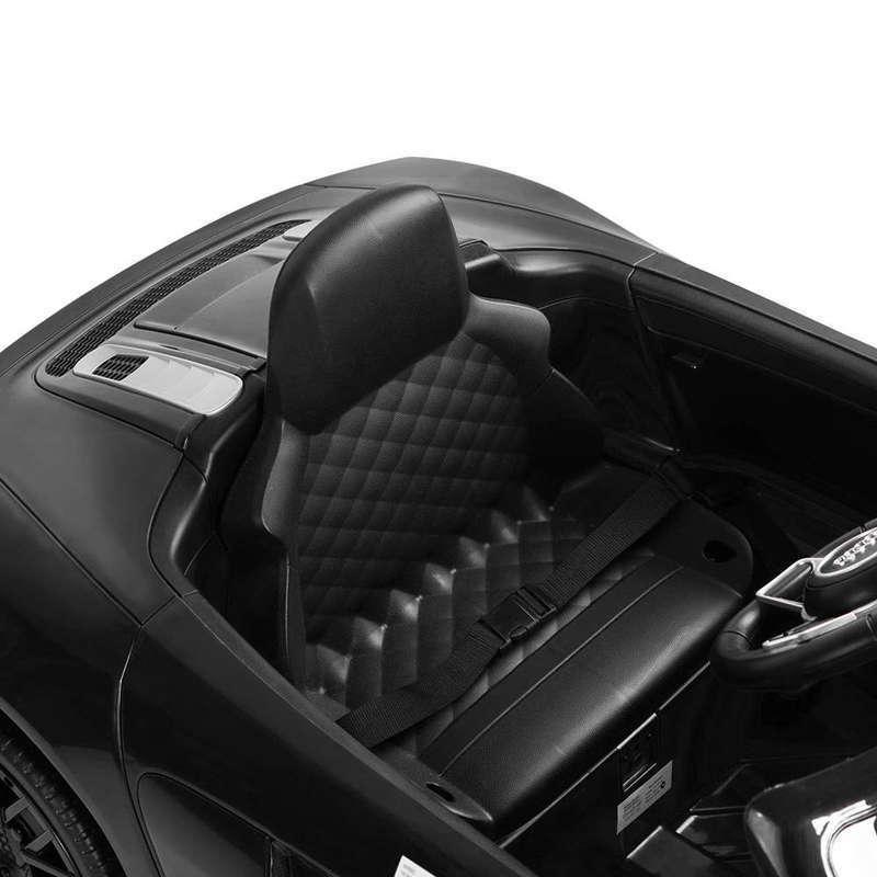 Masinuta electrica cu telecomanda Audi R8 Spyder Black - 4