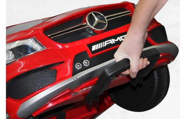 Masinuta electrica pentru copii Mercedes CLA45 AMG Jamara 460246 rosu si control parental 12V