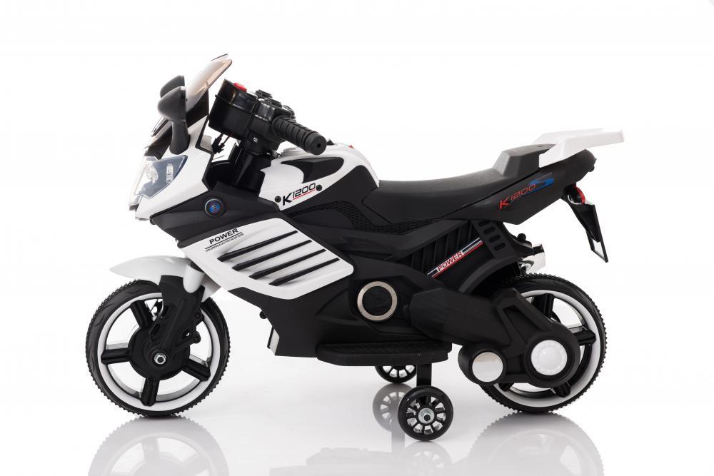 Motocicleta electrica 6V LQ158 albnegru