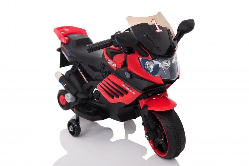 Motocicleta Electrica 6v Lq158 Rosu