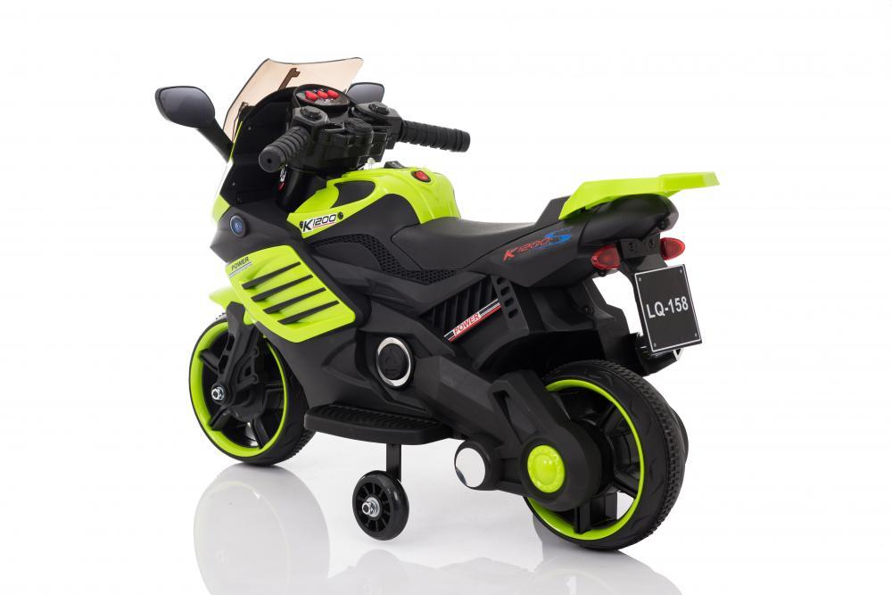 Motocicleta electrica 6V LQ158 verde