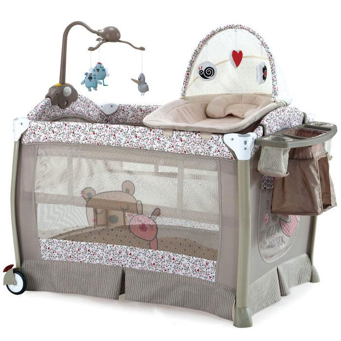 Patut pliabil Sleeper Beige Pink Luxury
