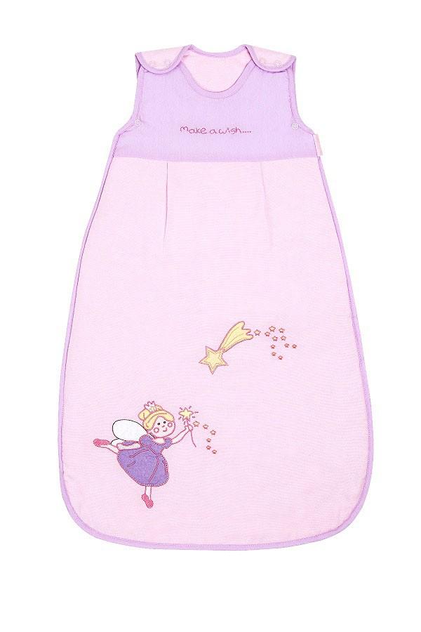Sac de dormit Pink Fairy 0-6 luni 1.0 Tog