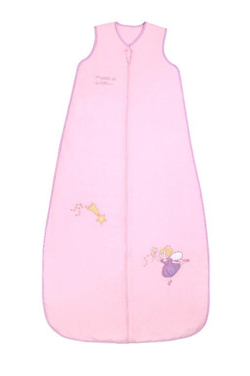 Sac de dormit Pink Fairy 6-10 ani 1.0 Tog