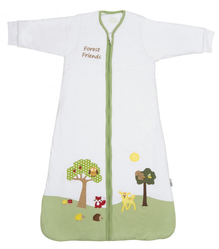 Sac de dormit cu maneca lunga Forest Friends 0-6 luni 3.5 Tog