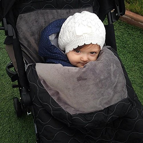 Sac de iarna JJ Cole Urban Bundle Me Infant Stealth - 6