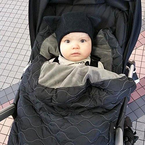 Sac de iarna JJ Cole Urban Bundle Me Infant Stealth - 8