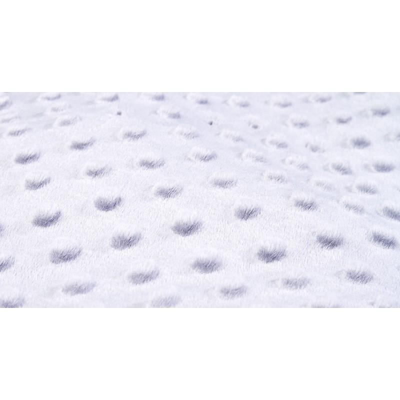 Sac de iarna matlasat MINKY 90x40 cm Grey