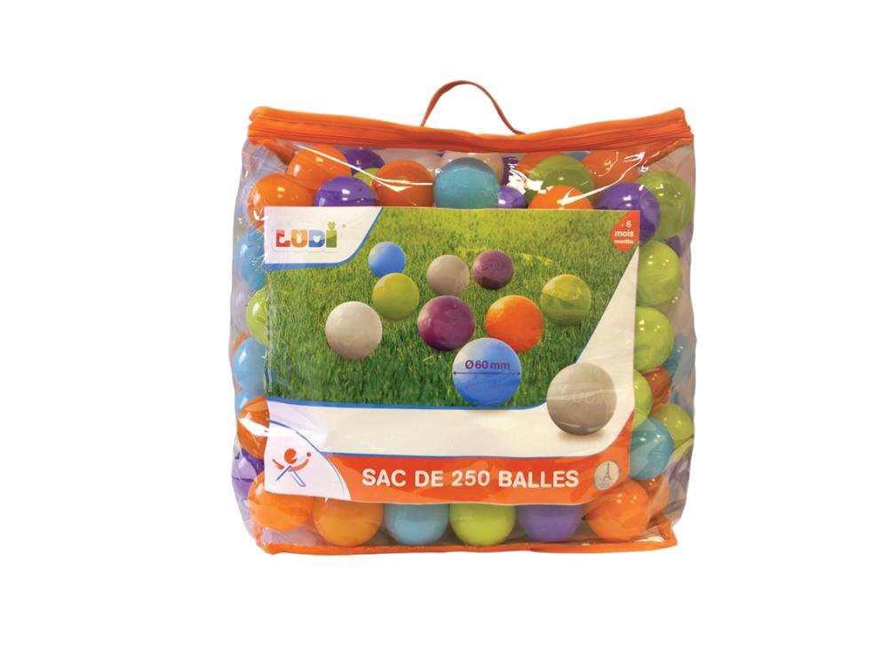 Set 250 de bile multicolore