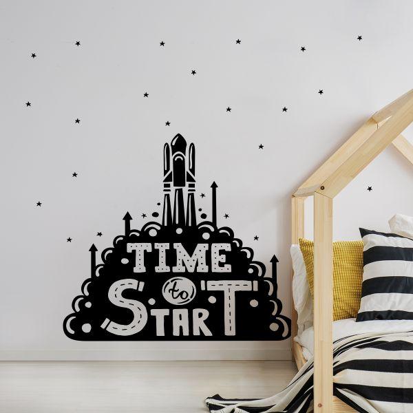 Sticker decorativ Start