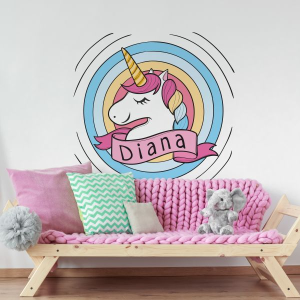 Sticker decorativ Unicorn