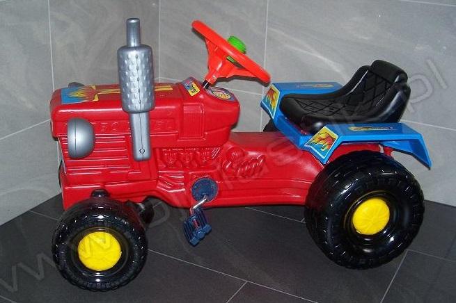 Tractor cu remorca WILLY Rosu