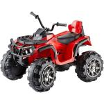 ATV Quad pentru copii Jamara 460249 Rosu 12V si radio FM