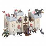 Castel din lemn castelul cavalerilor Papo