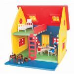 Casuta pentru papusi Pilsan Poly Mini House