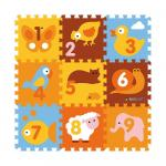 Covor puzzle din spuma Animale 9 piese