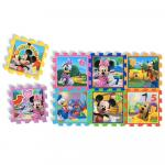 Covor puzzle din spuma Minnie&Mickey Mouse 8 piese