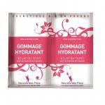 Exfoliant facial hidratant cu capsuni, aloe vera si morcov pt. ten radinat Secrets des Fees 2x4g