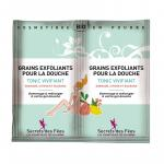Exfoliant pt. corp cu rodie, lamaie si guarana Secrets des Fees 2x2.5g