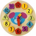 Puzzle din lemn Ceasul