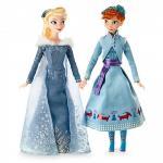 Set papusi Elsa si Anna din Olafs Frozen Adventure