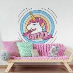 Sticker decorativ Unicorn