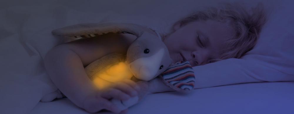 Amic muzical luminos pentru somn Max