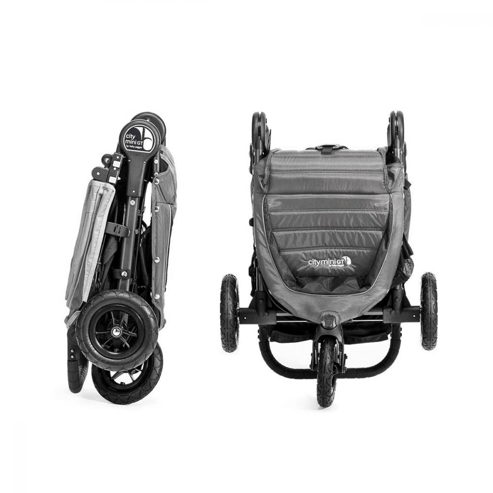 Carucior City Mini 3 Steel Grey Sand Baby Jogger