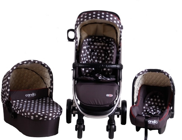 Carucior M21 sistem 3 in 1 Carello Dots