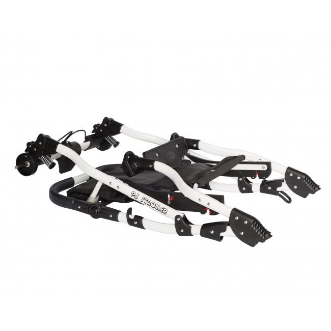 Carucior bebelusi 2in1 Pj Stroller Comfort White Black