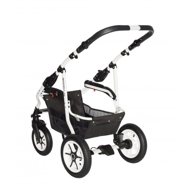 Carucior bebelusi 2in1 Stroller Comfort White Brown