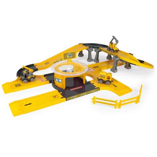 Circuit Constructii autostrazi cu masini Kid Cars 3D 3,7 m