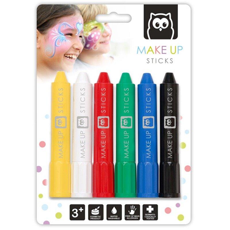 Creioane pentru pictura pe fata