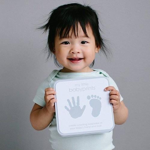 Cutie metalica pentru mulajul amprentei bebelusului My Little Babyprints