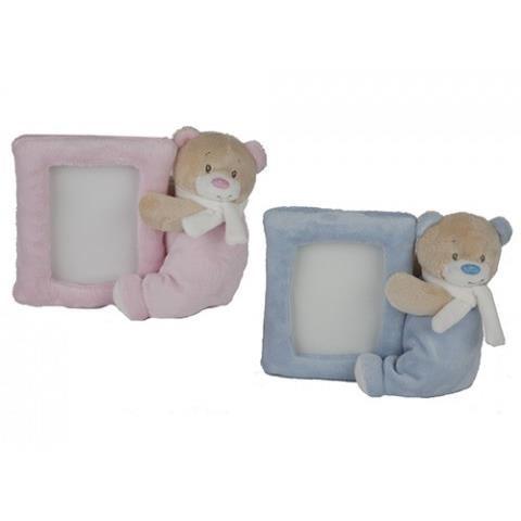 Jucarii plus ursuleti bebelusi cu rama foto 15 cm 2 modele