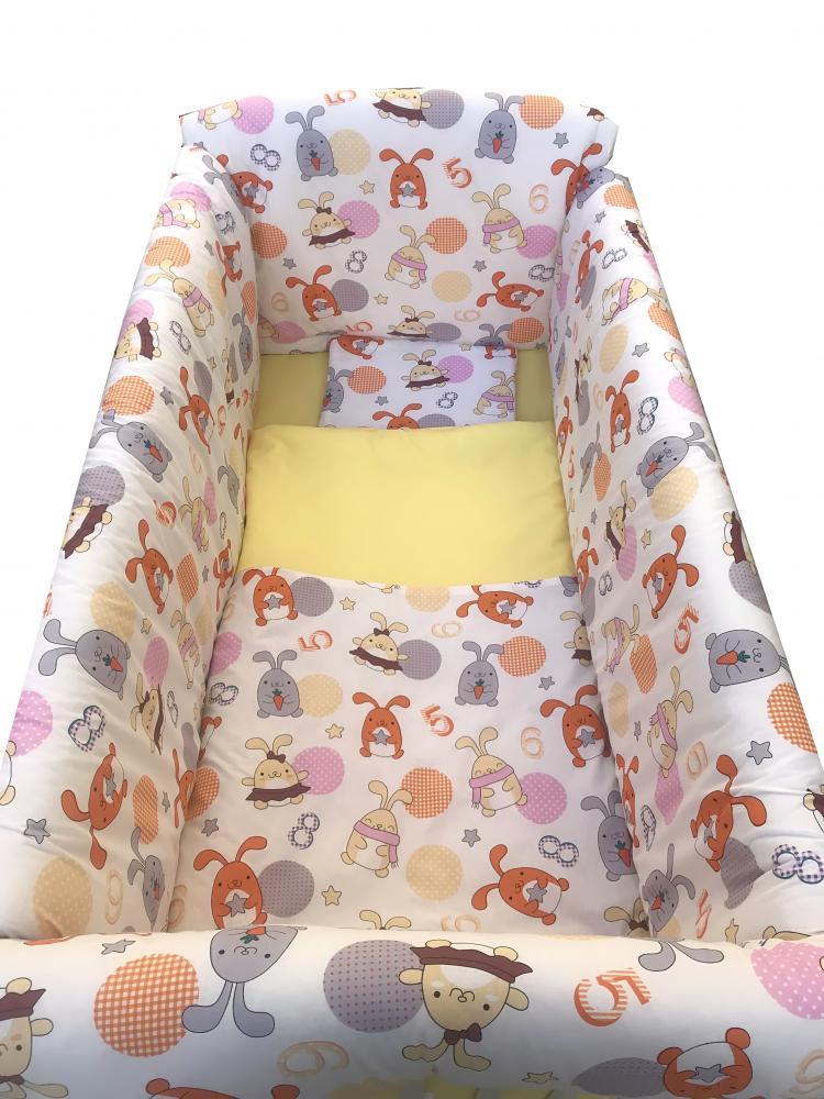 Lenjerie de pat Maxi Fantezie 120×60 cm din categoria Camera copilului de la DESEDA