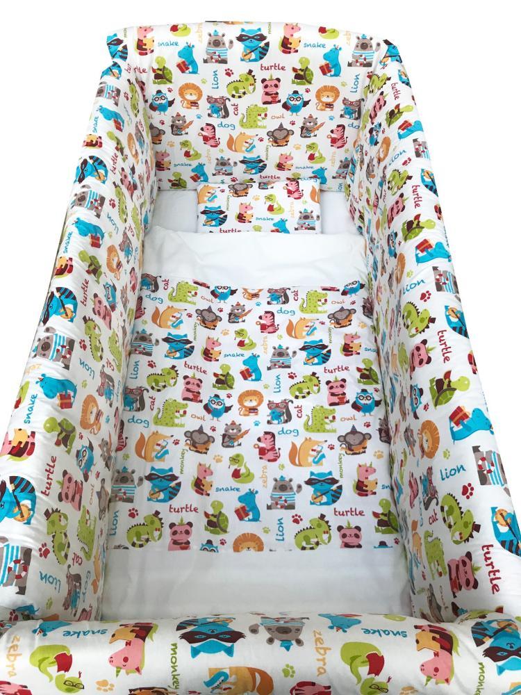 Lenjerie de pat Maxi Girafe 120×60 cm din categoria Camera copilului de la DESEDA