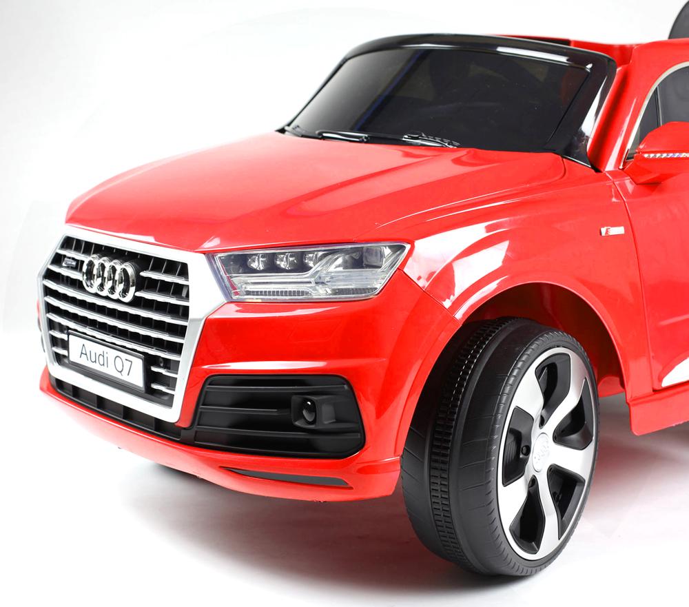 Masinuta electrica cu roti eva Audi Q7 Red - 5