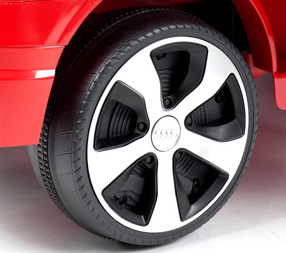 Masinuta electrica cu roti eva Audi Q7 Red - 6