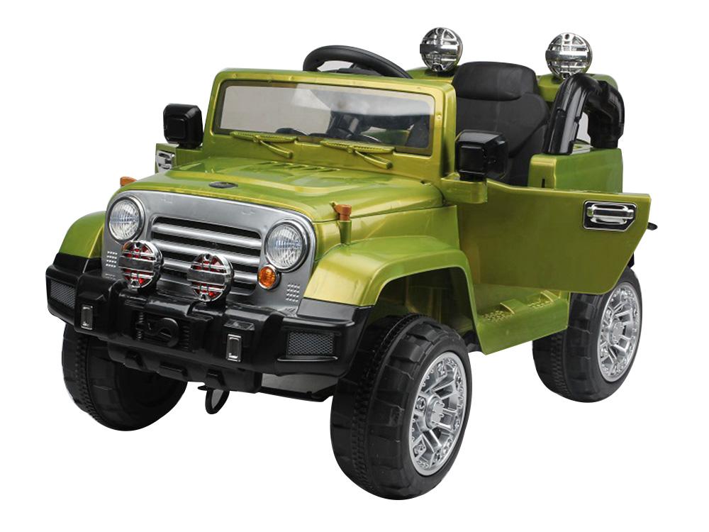 Masinuta electrica cu telecomanda JJ245 12V Verde - 3