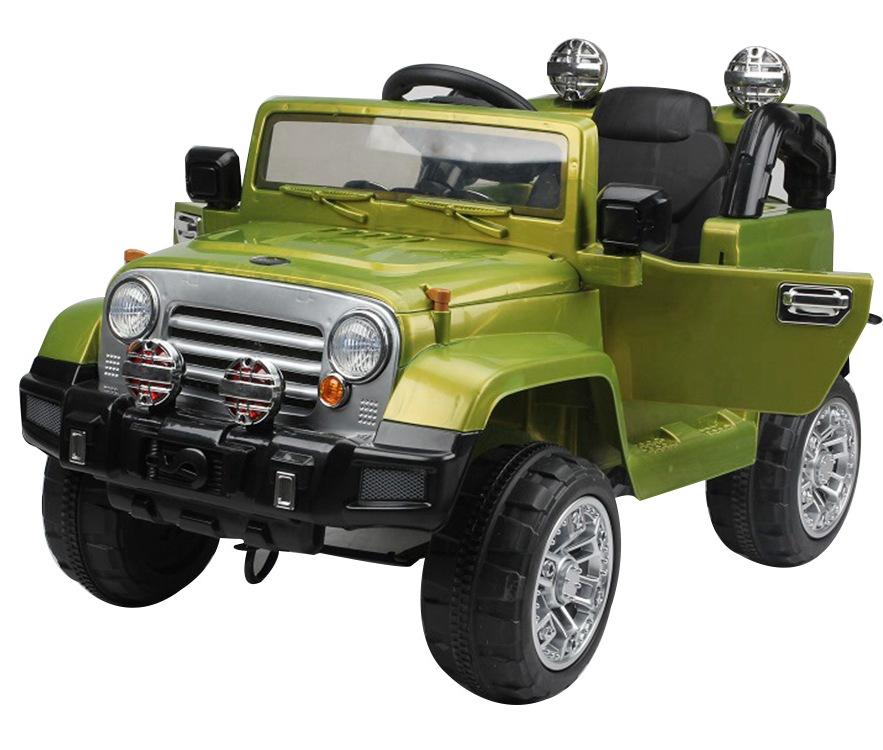 Masinuta electrica cu telecomanda JJ245 12V Verde - 4