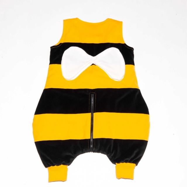 Sac de dormit cu picioare Penguin Bag model Albinuta 2.5 tog 1-3 ani (66-96 cm)