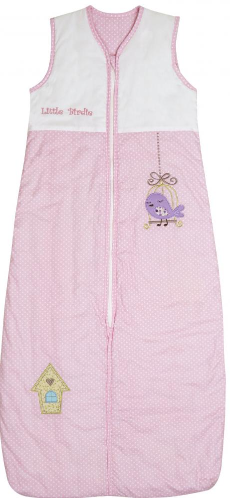 Sac de dormit Pink Bird 1-3 ani 2.5 Tog