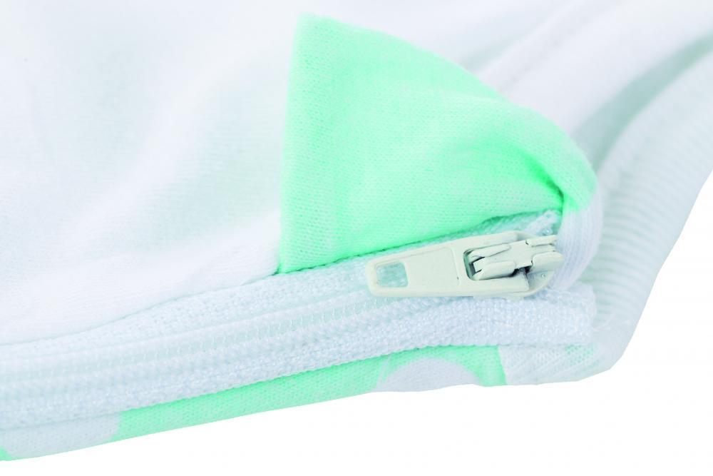 Sac de dormit cu maneca nou nascut 55 cm Norisori Mint Fillikid