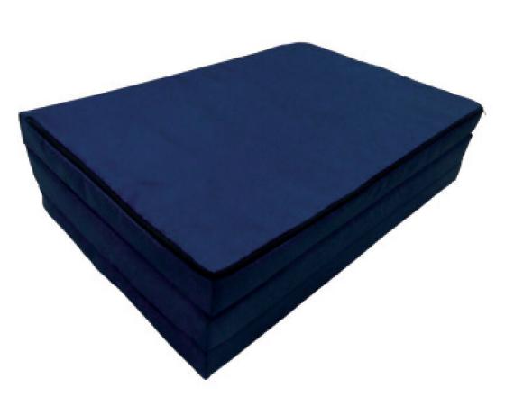 Saltea pliabila 120x60x5 cm Dark Blue