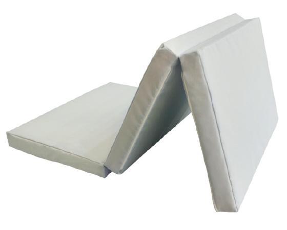 Saltea pliabila impermeabila 120x60x5 cm Light Gray