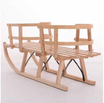 Saniuta gemeni din lemn