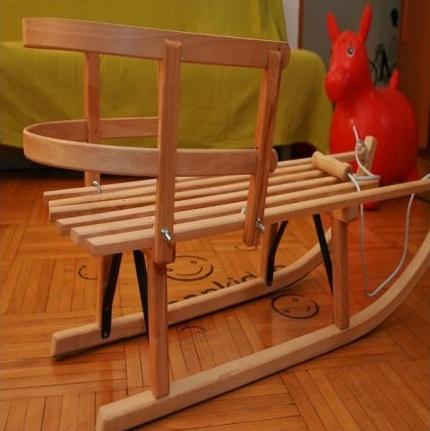 Saniuta medie din lemn