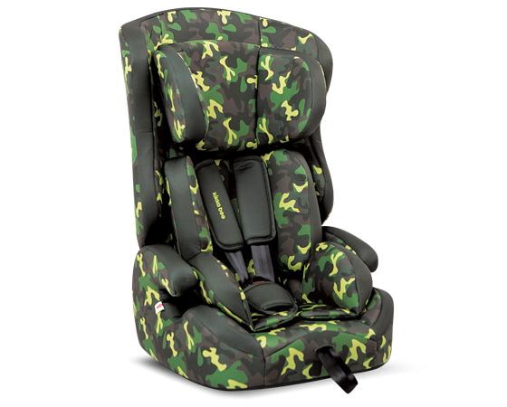 Scaun auto Camouflage Green 9-36 kg